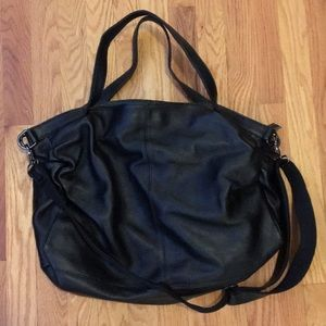 Handbags - Brand new Genuine black pebbled leather bag